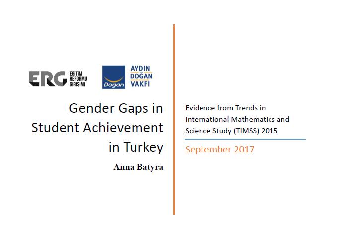 Gender Gaps in Student Achievement in Turkey: TIMSS 2015 Findings
