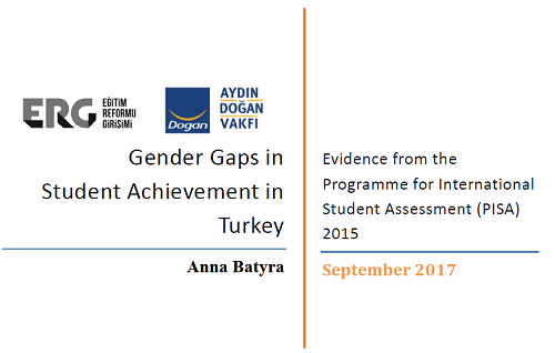 Gender Gaps in Student Achievement in Turkey: PISA 2015 Findings